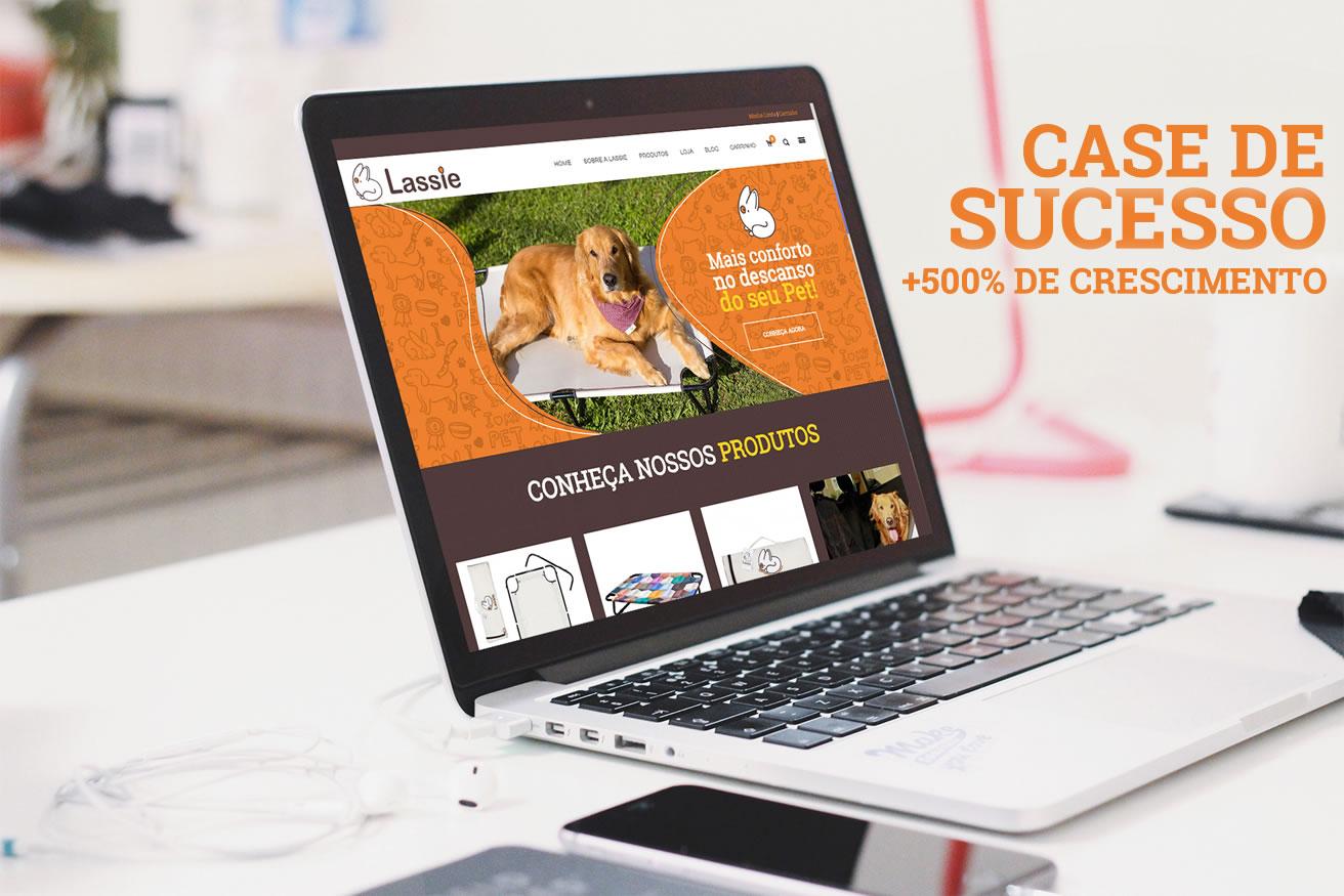 Desenvolvimento de Lojas Virtuais - Case Lassie